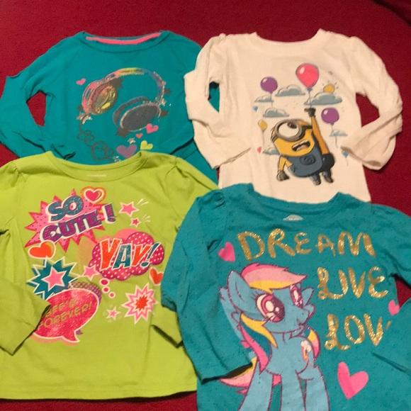 edc3367d2 Shirts & Tops   4t Minion My Little Pony Shirt Lot   Poshmark